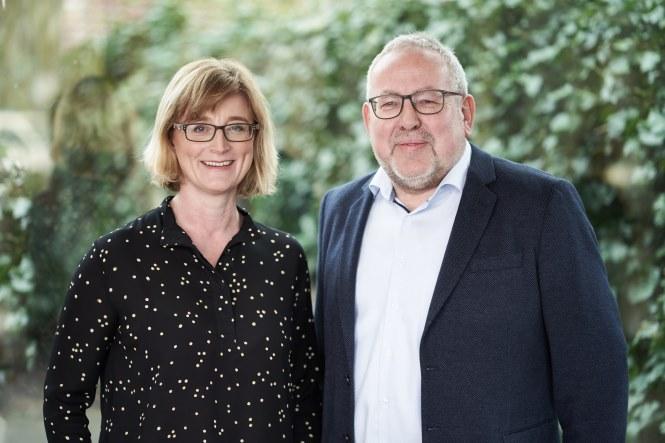 Die alte und neue Fraktionsspitze der FWG: Josef Beermann und Dr. Ute Buchheim.